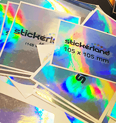 Hologramstickers