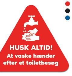 Hygiene-Klistermärken